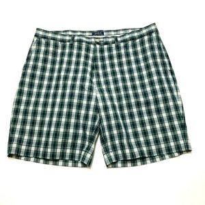 POLO Ralph Lauren Plaid Flat Front Shorts